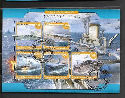 Madagaskar - II. světová válka - letadlové lodě
