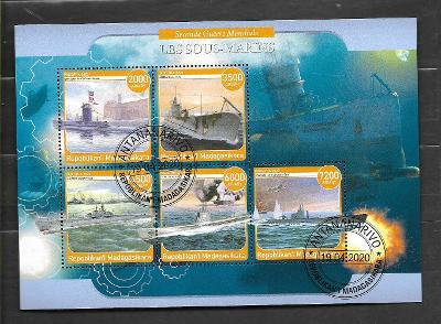 Madagaskar - II. světová válka - ponorky