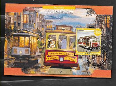 Madagaskar - historické tramvaje - San Francisko