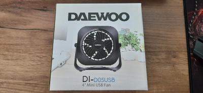 USB ventilátor Daewoo DC5 V-2,5W