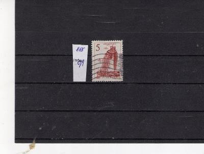 JUGOSLÁVIE  ražená známka   Mi  856
