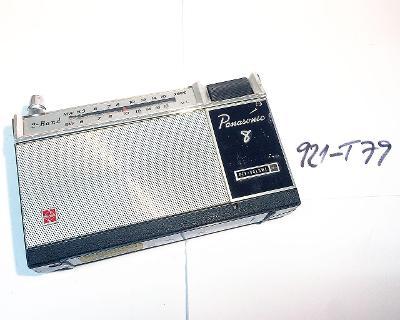 Tuzexový National Panasonic R-8073, germaniové tranzistory (921-T79)
