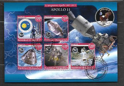 Madagaskar2020 -kosmos - Apollo 11, lunární modul Eagle