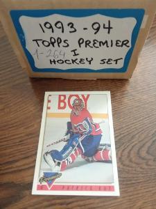 Kompletní set karet -  Topps premier  93/94 Série 1 (264 karet)