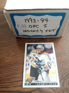 Kompletní set karet -  OPCH premier 93/94 serie 1 (264 karet)