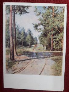 Klobt Lesní cesta pohled