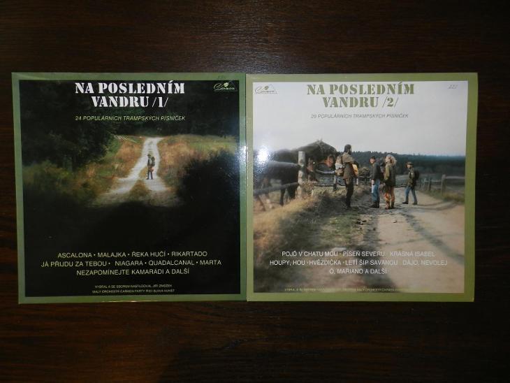 2x LP vinyl Na posledním vandru (1+2) (trampská, country) - Hudba
