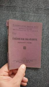 Služeb.knihy branné moci Cvičební řád pro pěchotu-Pořadový výcvik 1934