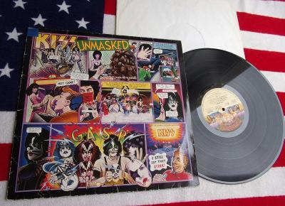 💥 LP: KISS - UNMASKED, 1st pressing West Germany 1980