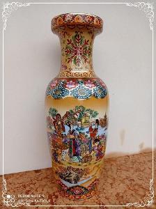 *** Luxusní porcelánová malovaná japonská orientální váza ***