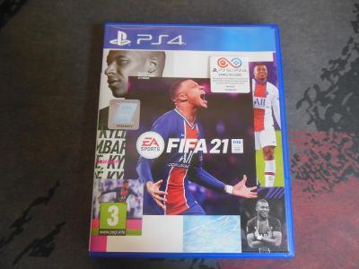 PS4/PS5 FIFA 21 CZ aukce od korunky