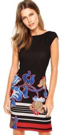 Desigual/luxusní krásné šaty// L (42/44) NOVÉ 1,-