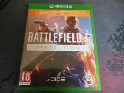 Xbox One Battlefield 1 Revolution aukce od korunky