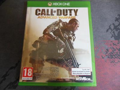 Xbox One Call of Duty Advanced Warfare aukce od korunky
