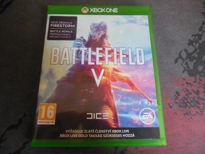 Xbox One Battlefield V aukce od korunky