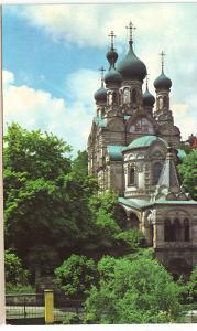 Karlovy Vary-Ruský kostel-PANORAMA-ČSSR