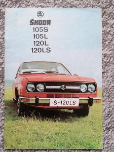 ŠKODA 105/120 - 1977 - prospekt