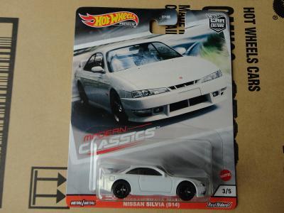 Hot Wheels Nissan Silvia (S14).Rozbaleno.Krabička je otevřena.