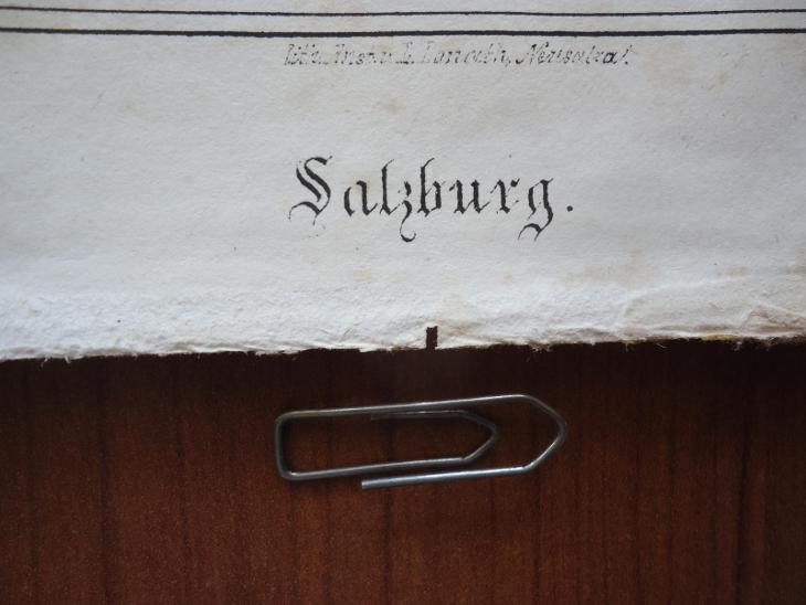 SALZBURG......vel. 19,5 x 26 cm....ocelorytina , cca 1880 - Antikvariát