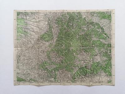 Mapa Levoča