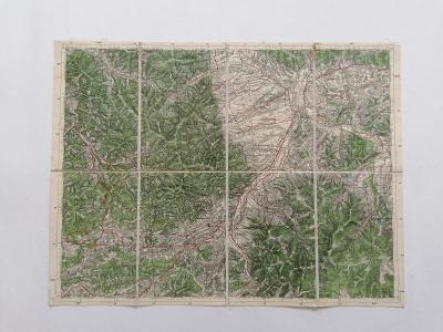 Mapa Hrčava