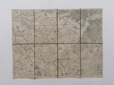 Mapa Mukačevo