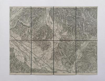 Mapa Ťačovo