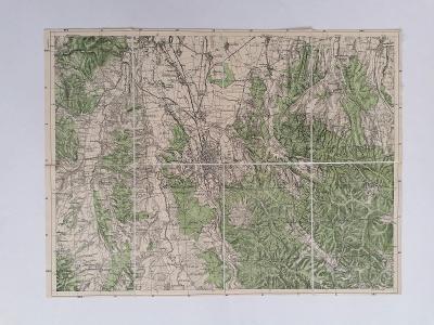 Mapa Košice a okolí