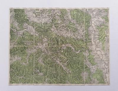 Mapa Gelnica