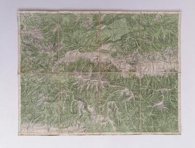 Mapa Pohorelá