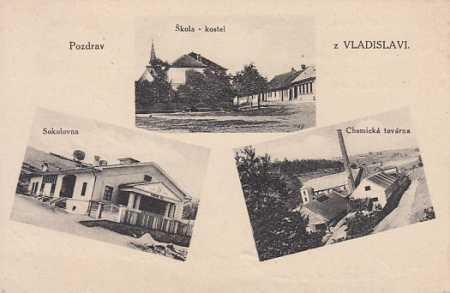 Vladislav více záběrů SOKOLOVNA TOVÁRNA