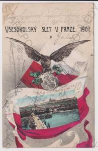 Praha - Sokol - Všesokolský slet v Praze 1907, kol