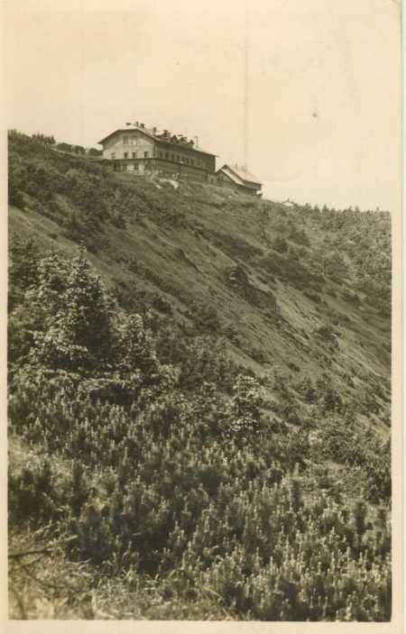 Jeseníky- Šerák (Hochschar)- chata Jiřího - Pohlednice