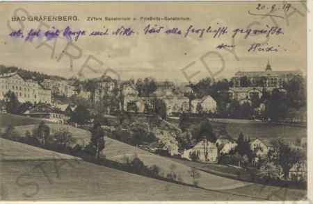 Jeseník - Bad Gräfenberg, Ziffers Sanatorium u. Pr