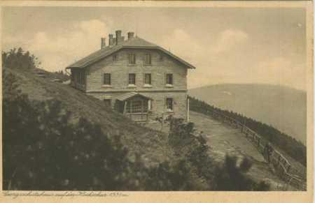 Jeseníky- Šerák- chata Jiřího (Georgsschutzhaus au - Pohlednice