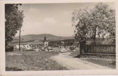 Jilemnice (Starkenbach), celkový pohled, kostel