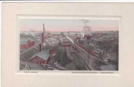 Polská Ostrava dříve Slezská,částečný záběr průmys