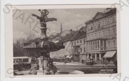 Slovensko, Bratislava (Pozsony), Palackého sady