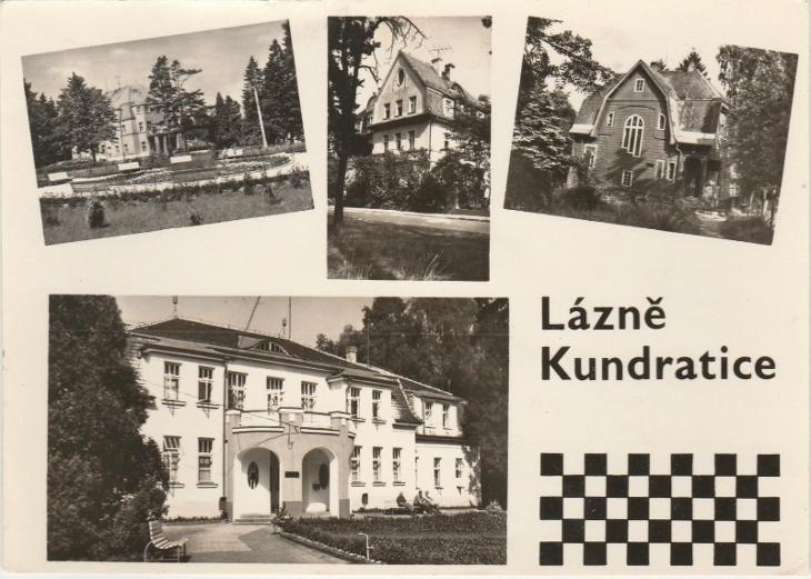 LISTE 3/ VF prošla- lazně kundratice - Pohlednice
