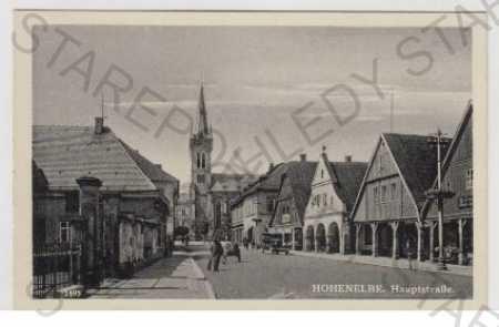 Vrchlabí (Hohenelbe), Trutnov, ulice, kostel, auto