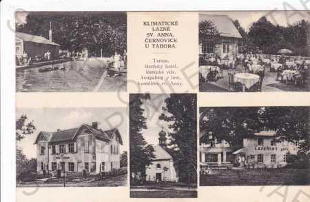 Černovice u Tábora, Vysočina, více záběrů, lázně s