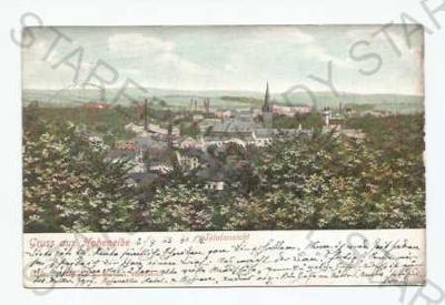 Vrchlabí Trutnov pohled na město z výšky DA
