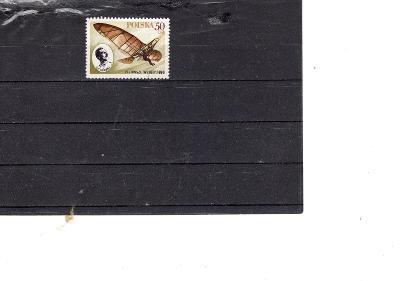 Polsko ražená známka letadlo