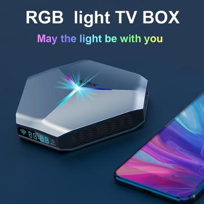 8K 4K TV BOX A95X F4 RGB WIFI 4GB/64GB S905x4 Android 11 DTS Atmos HDR