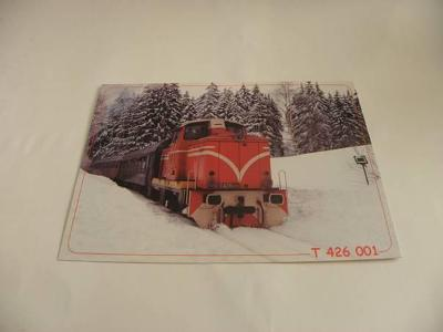 KOŘENOV - LOKOMOTIVA T 426 001 (A86)