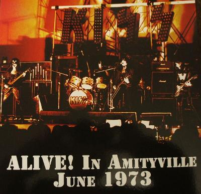 1 LP KISS Alive In AMITYVILLE 1973 Raritní !