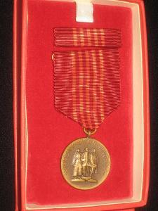 Pamětní medaile k 25. výročí Vítězného února