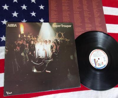 ❤️ LP: ABBA - SUPER TROUPER, skoro jako nová 1.press France 1980