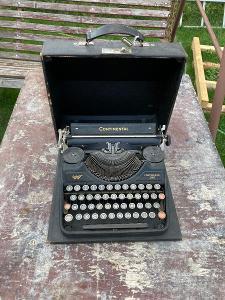 Starý psací stroj Continental 340