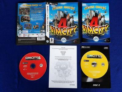 PC - SIMCITY DELUXE EDITION (retro 2003) Top